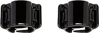 Linziclip Hair Jawclip Midi Black Solid Bundle, 2-Pack