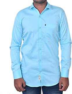 Cloth 4 US Mix Cotton Shirts for Men | Solid/Plain | Regular Fit | Full Sleeve Shirt Casual | 3 Thread Stitch | Formal Shi...