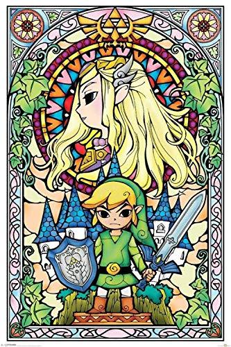 Puzzle 1000 Piezas Famou legend of Zelda retro cardboardbeautiful Adultos Rompecabezas Canal para Infantiles Adolescentes