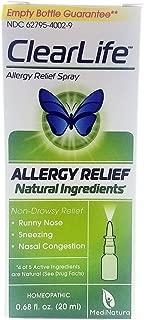 Medinatura, Clearlife Allergy Nasal Spray, 0.68 Ounce
