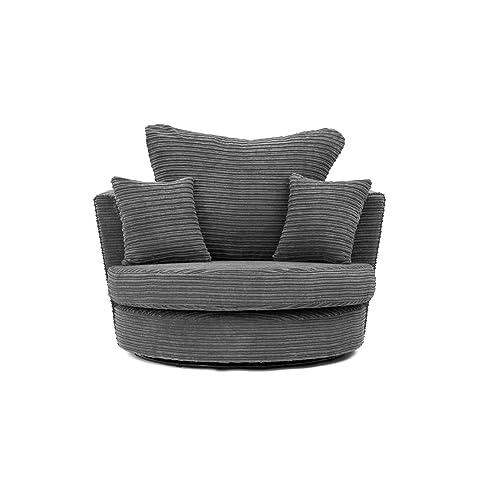 Tremendous Swivel Chairs For Living Room Amazon Co Uk Creativecarmelina Interior Chair Design Creativecarmelinacom
