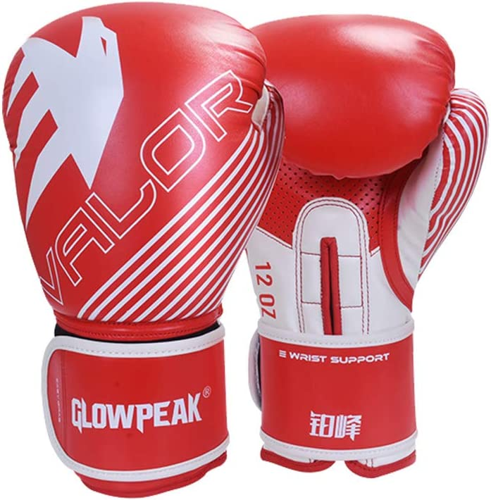 GLOWPEAK Pro Grade Boxing High quality new Gloves Kickboxing Trai MenWomen Ranking TOP9 for