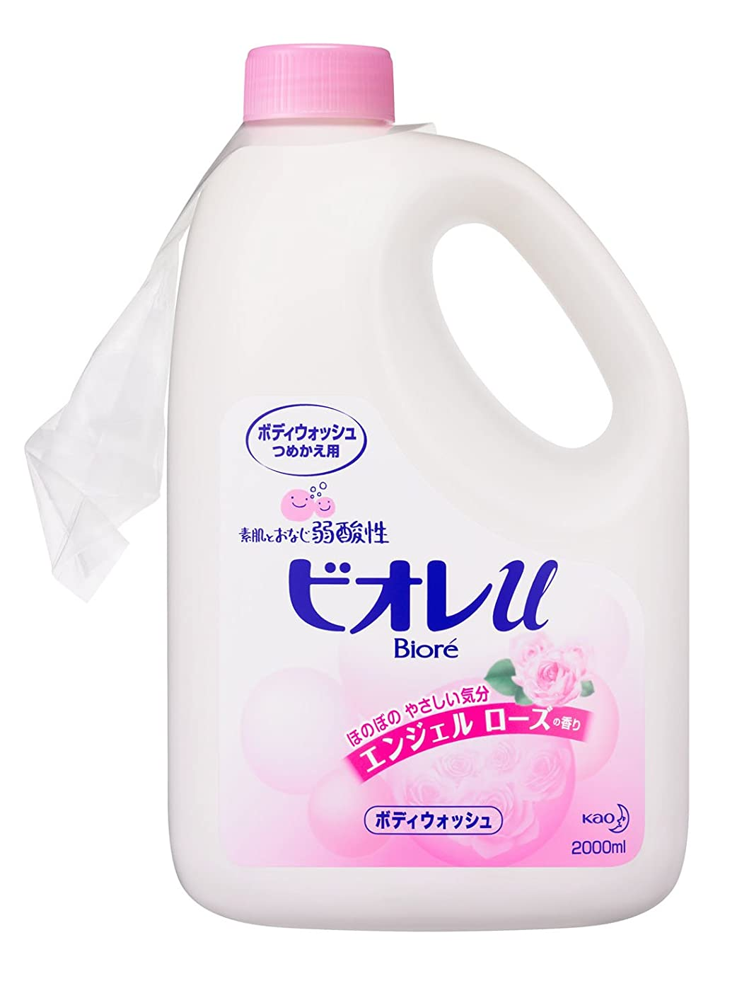 打倒流すタービン【限定商品】ビオレuエンジェルローズの香りつめかえ2L