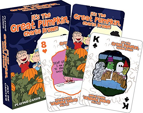 Aquarius Charlie Brown Great Pumpkin Playing Cards