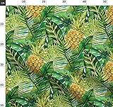 Palme, Tropisch, Blätter, Ananas, Banane, Dschungel Stoffe