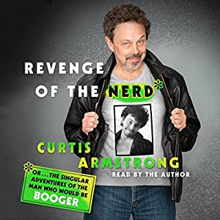Revenge of the Nerd audiobook cover art