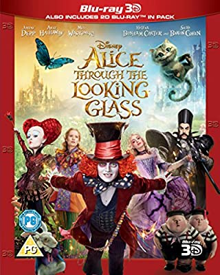 Alice Through The Looking Glass [Blu-ray 3D]