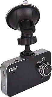 Naxa Electronics NCV-6000 2.4-Inch HD LCD Display Car Dash Cam, 140-Degree Wide-Angle Lens, Black