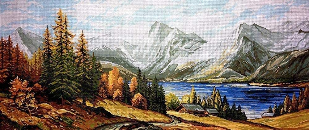 BaiJaC Embroidery Max 66% OFF Kits Long-awaited for Tapestry kit Adults 73x32c