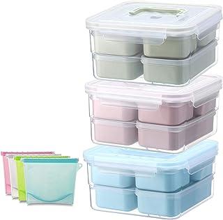 Conteneur En Plastique Pour Le Déjeuner Et Les Aliments, Contenants Pour Aliments Micro-Ondables En Plastique Pour Prépara...