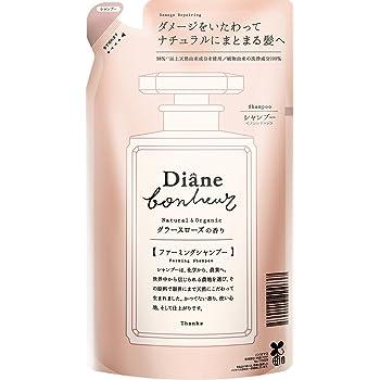 Diane Bonheur (ダイアン ボヌール) ダメージリペア シャンプー つめかえ用 グラースローズの香り 詰め替え 400ml