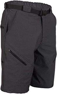 Zoic Men's Black Market Bike Shorts with RPL Liner - 2013 Model - Discontinued