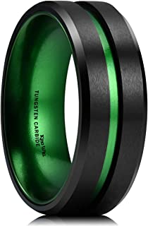 Best green and black wedding band Reviews