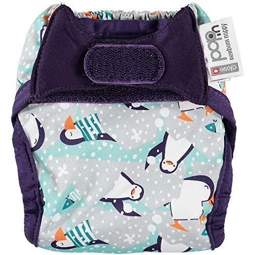 Close Parent Pop-in - Pañal Lavable para Recien Nacidos, Penguin