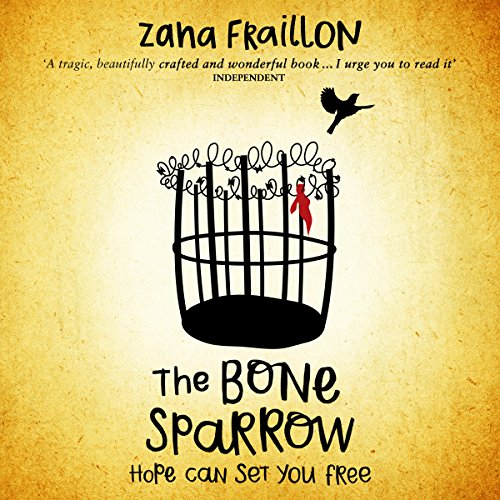 The Bone Sparrow audiobook cover art