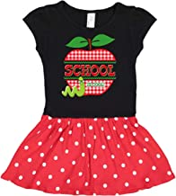 inktastic Apple School is Cool Toddler Dress