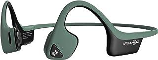 AfterShokz Trekz Air Open Ear Wireless Bone Conduction Headphones, Forest Green, AS650FG
