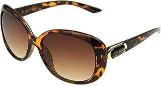 ستيف مادن نظارة شمسية نمط سبيريت للنساء بيضاوي، السلحفاة، 57 ملم