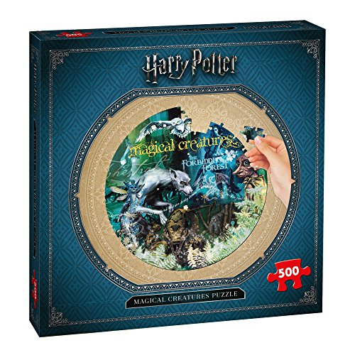 Winning Moves Harry Potter Magical Creature Puzzle 500 pièces