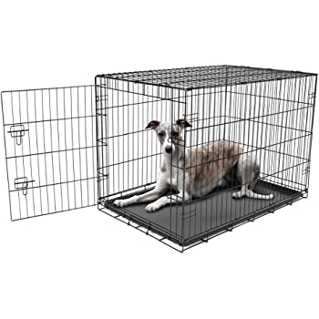 Carlson Pet Products Secure and Foldable Single Door Metal Dog Crate