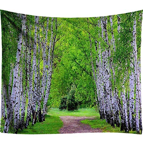 Large Wall Pictures Forest Tapestry Wall Hanging Bohemian Decor Psychedelic Wall Tapestry Tapiz Pared Tela Tenture Murale Tissus 150 * 130cm