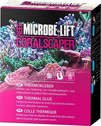 MICROBE-LIFT Coralscaper - Thermo Korallenkleber, Biopolymer Kleber, einfache Handhabung, perfekt zur Verwendung in jedem Meerwasseraquarium, 250ml / 175g