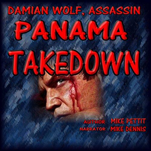 Panama Takedown audiobook cover art