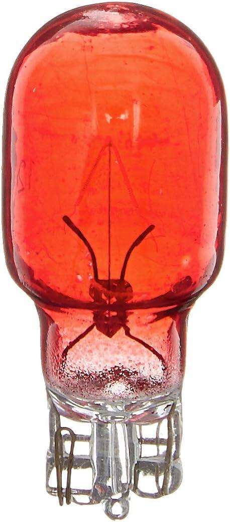 Moonrays 11691 4-Watt Wedge Base Light Bulbs, Red
