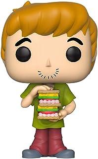 Funko- Pop Figura de Vinilo: Animación: Scooby Doo-Shaggy w/Sandwich Coleccionable, Multicolor (39949)