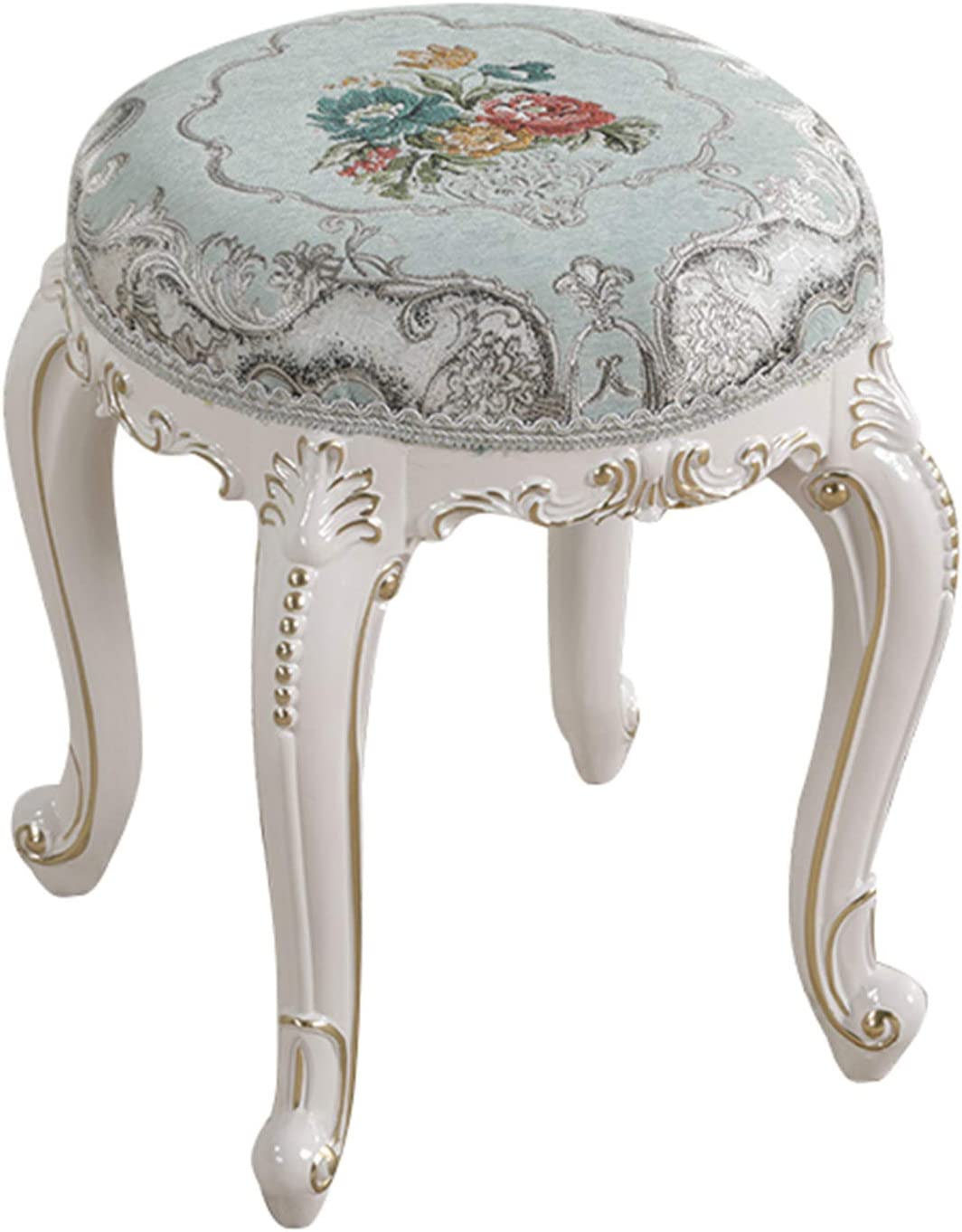 DLGF Vanity NEW before selling OFFer Stool Makeup Dressing Solid Piano Wood Le with
