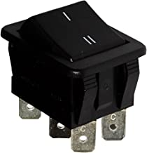Homyl Control Durable Del Interruptor Del Espejo Lateral De La Vista Posterior De Chrome Para AUDI A6 1999-2004 Negro