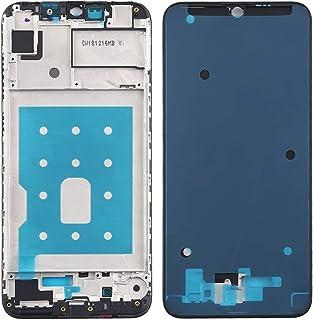 مجموعة الهاتف الخلوي Lingland غطاء أمامي LCD إطار إطار اللوحة لهواوي Y7 برو (2019) (أسود) التجميع الكلي للشاشة (اللون: أسود)