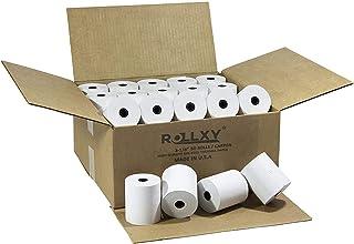 (50 Rolls) BPA FREE ROLLXY Thermal Paper - 3-1/8 x 230 Feet (CT-S300) photo