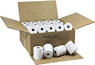 (50 Rolls) BPA FREE ROLLXY Thermal Paper - 3-1/8 x 230 Feet (CT-S300)