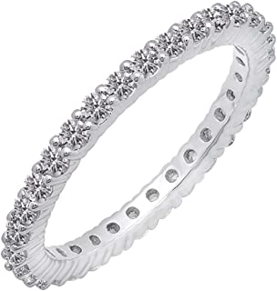Dazzlingrock Collection 14k Round H-I white-diamond
