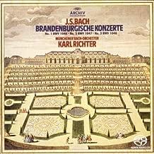 バッハ:ブランデンブルク協奏曲第1番&第2番&第3番