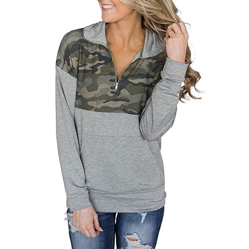 de49cf01e2c Camo Sweatshirt: Amazon.com