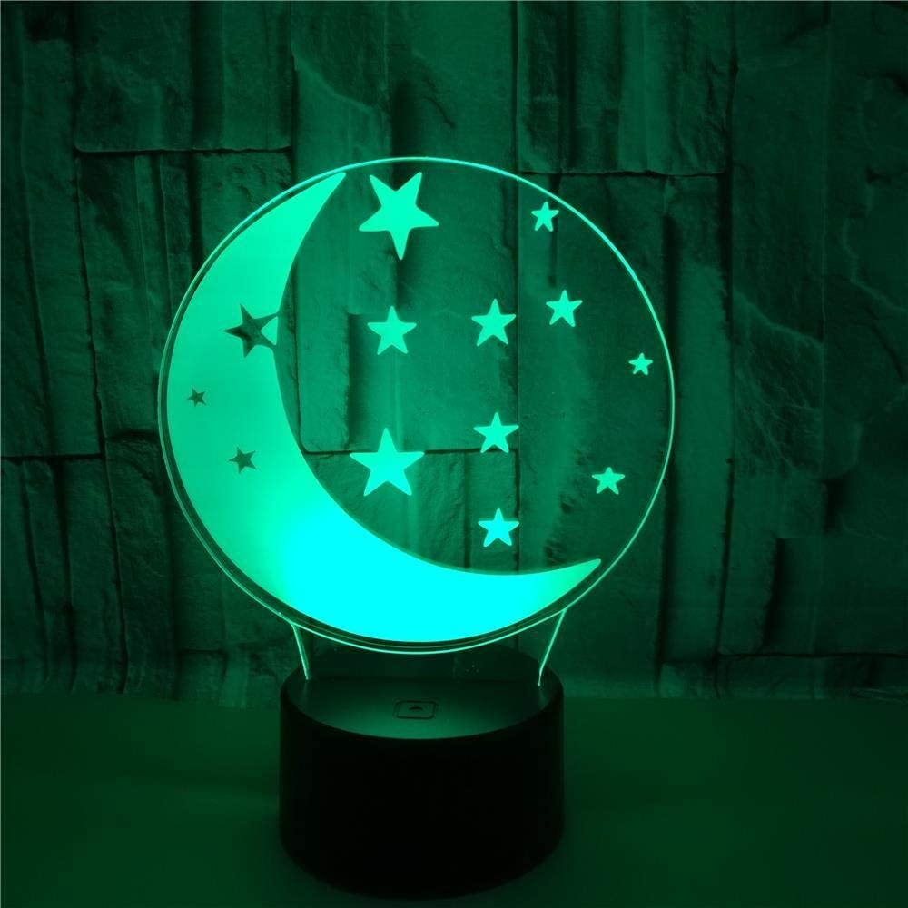 3D Baby Night New life Light 16-Color Illusion LED Control Finally resale start Remote