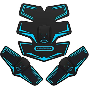 Muzik EMS 腹筋ベルト腕筋 筋トレマシン トレーニング ダイエット器具 11段階 6つモード USB充電式 日本語説明書