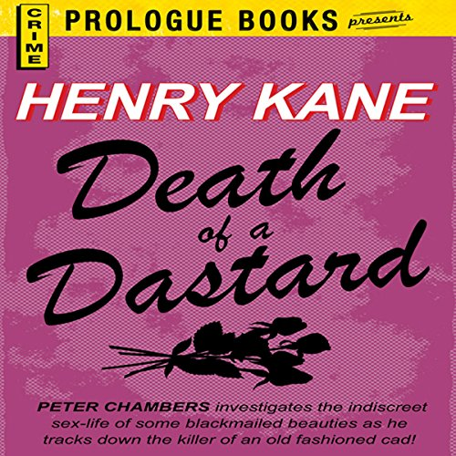 Death of a Dastard audiobook cover art
