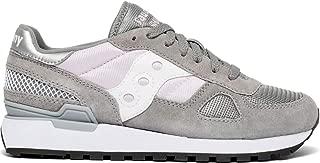 Saucony Originals Women's Shadow Original Sneaker, Grey/Orchid, 7.5 M US