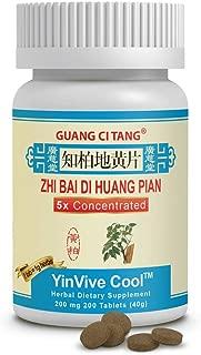 Zhi Bai Di Huang Pian - YinVive Cool - 200 mg 200 Tablets