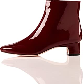 Amazon Brand - find. Block Heel Square Toe, Women's Ankle boots