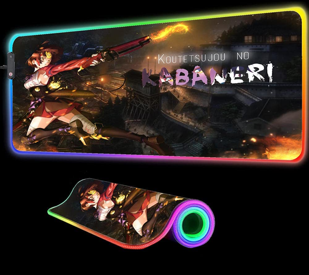 Mouse Pads Anime Kabaneri Cheap super special price of The Fortress Lar RGB Pad Outlet SALE Iron