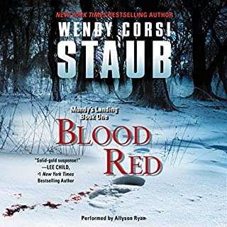 Blood Red audiobook cover art