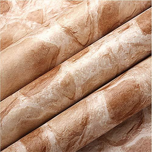 ZHAORLL 3D Feste Felsen PVC Wasserdichte Tapete Besondere Stein Muster Restaurant Wohnzimmer Esszimmer TV Hintergrund Tapeten Nicht Selbstklebend 53 cm * 10 Mt,A