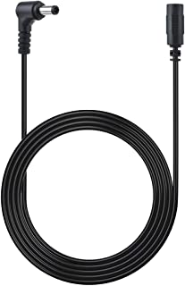 TOP+ 1.8m 6' Extension DC Power Cord Cable for D-Link Wireless Network Surveillance Camera DCS 5V & 12V Series DCS-930L DCS-930L/2 DCS-931L DCS-932L DCS-2120 DCS-933L DCS-934 DCS-934L