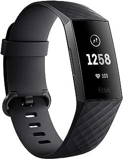 Fitbit Charge3 フィットネストラッカー Black/Graphite L/Sサイズ  [日本正規品] FB410GMBK-CJK