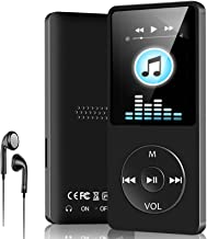 $25 » MP3 Player,16GB MP3 Music Player with Speaker/FM Radio/E-Book,Portable Digital Lossless Media Player for Relaxing,Music Pl...
