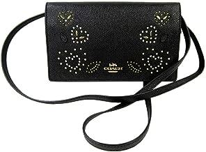 Coach Hayden Foldover Crossbody Clutch Wallet in Crossgrain Leather